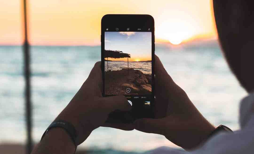 Application retouche photo ciel