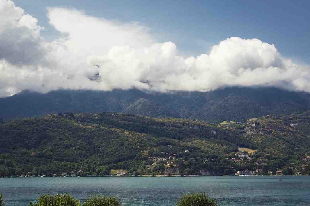 Où allez au lac d'Annecy ?